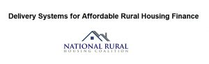 Delivery Systems for Affordable Rural Housing Finance