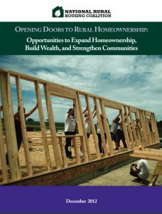 Opening Doors to Rural Homeownership (2012)