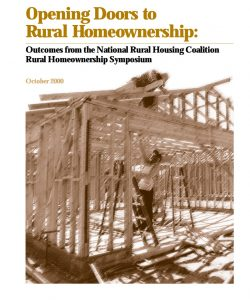 Opening Doors to Rural Homeownership (2000)