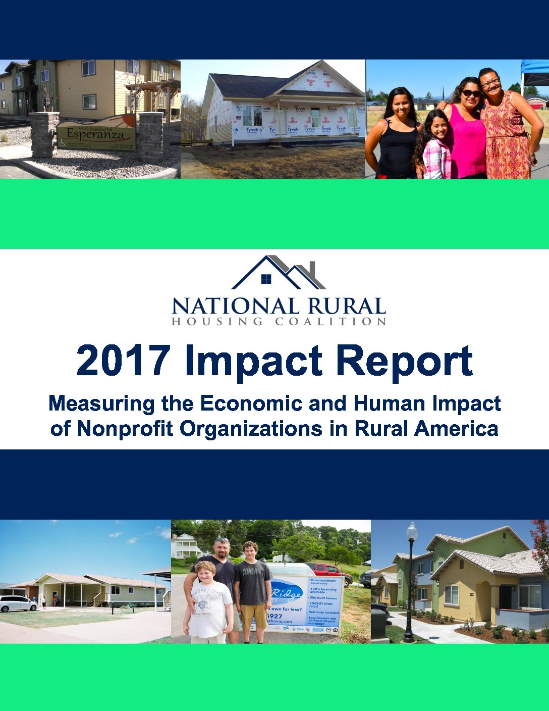 2017 Impact Report - Measuring the Economic and Human Impact of Nonprofit Organizations in Rural America