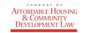 Journal of Affordable Housing and Community Development - Rural Housing in Modern America